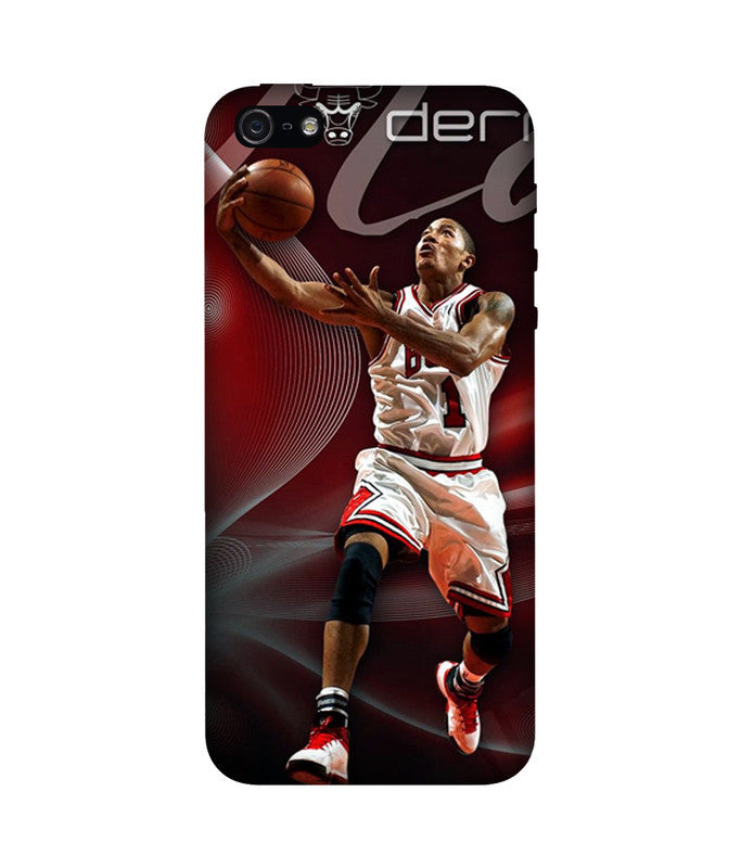 Creatives 3D Derrick Rose Iphone Case