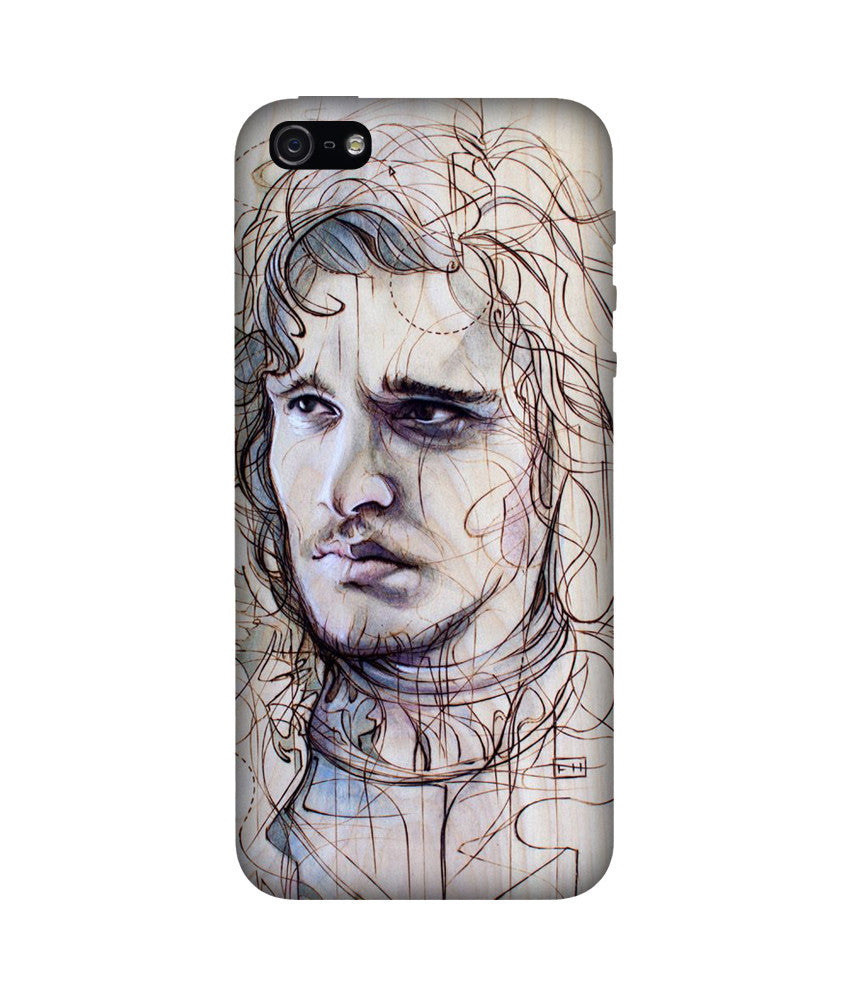 Creatives 3D Jon Snow Iphone Case