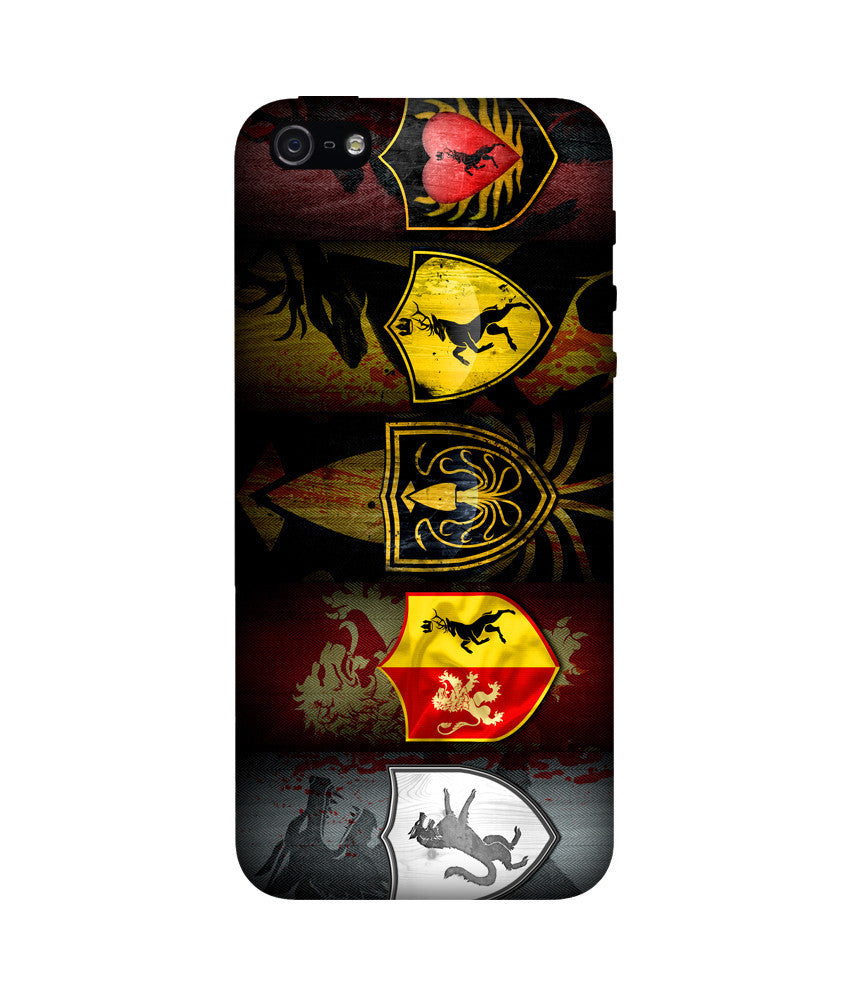 Creatives 3D Game of Thrones Iphone Cover