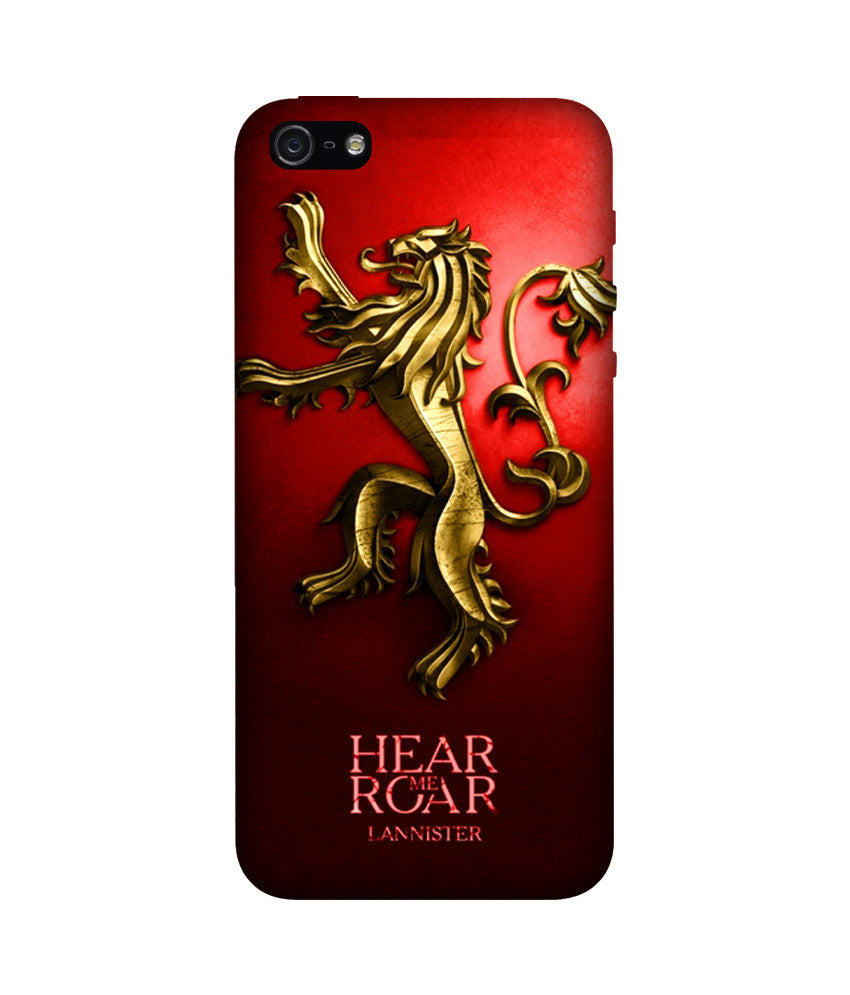 Creatives 3D Game of Thrones Iphone Case