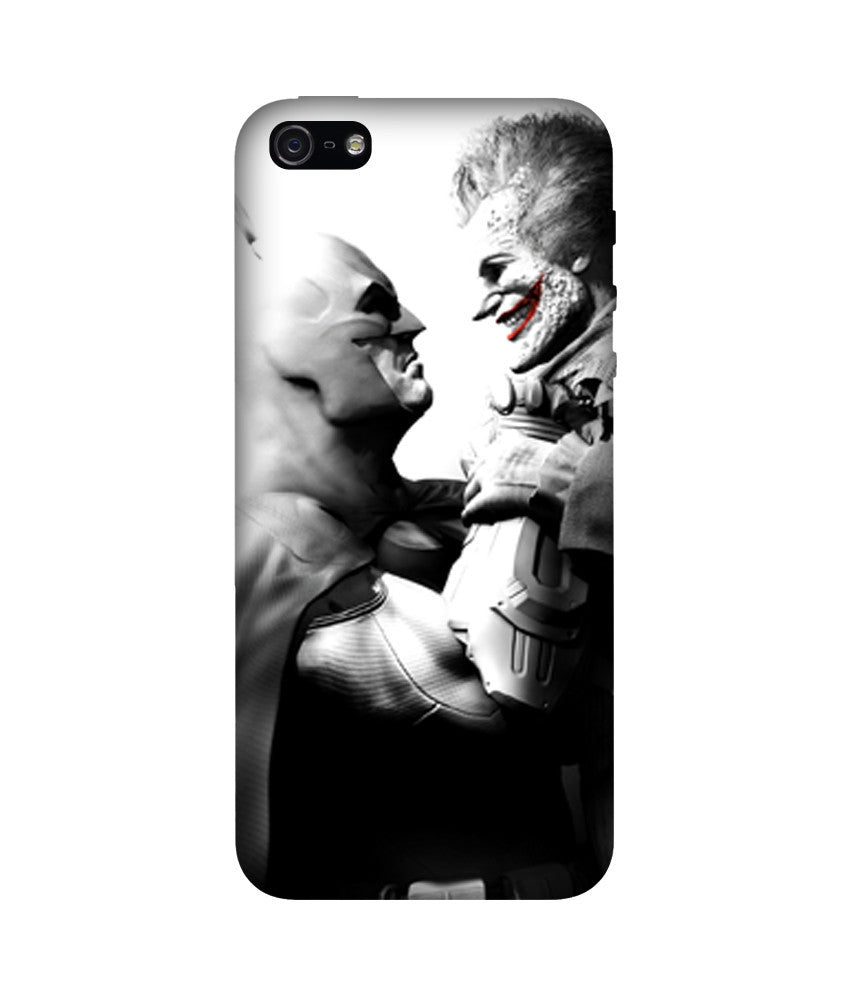 Creatives 3D Black and White Batman and Jocker Iphone Case