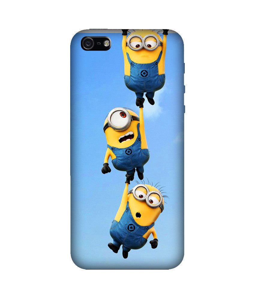 Creatives 3D Minions Iphone Case