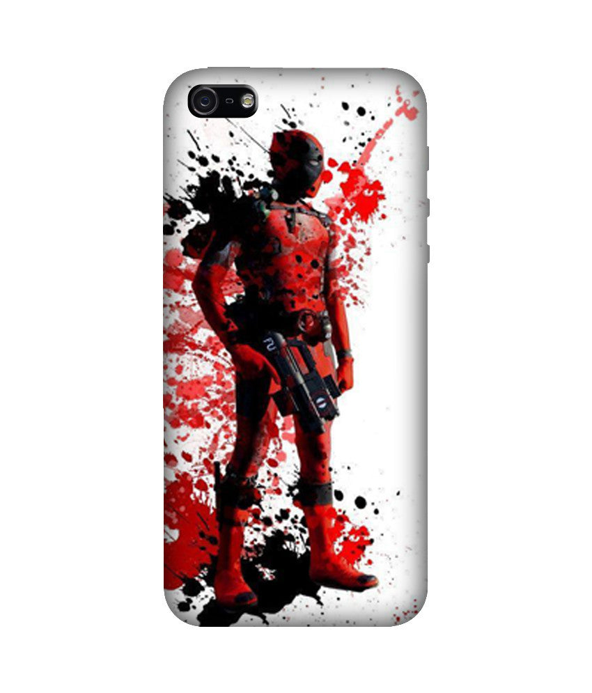 Creatives 3D Deadpool Iphone Case