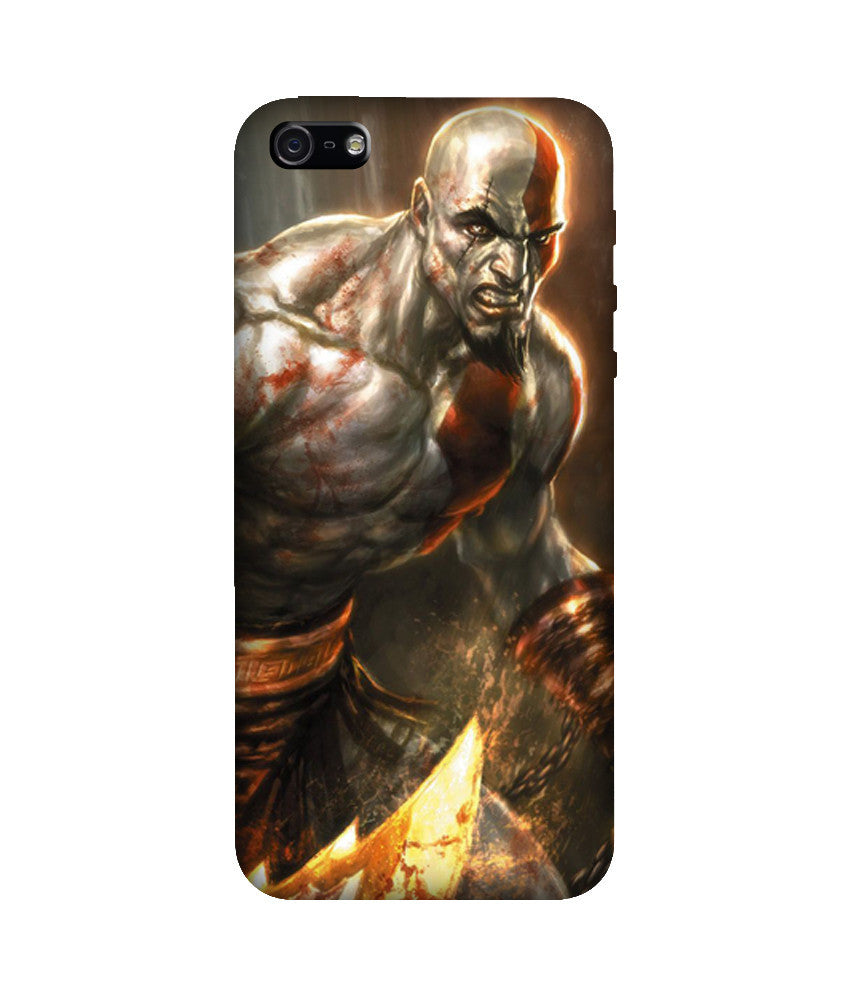 Creatives 3D God of War Iphone Case