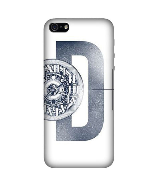 Creatives 3D Alphabet D Iphone Case
