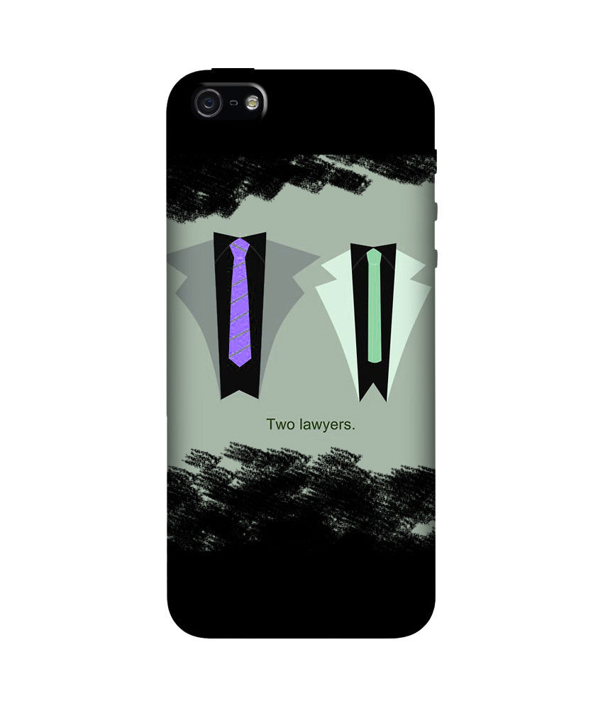 Creatives 3D The Two Lawyers Iphone  Case