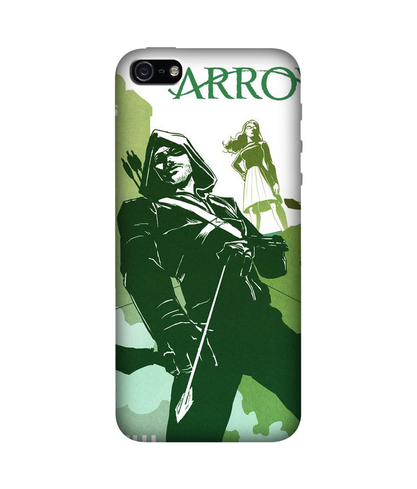 Creatives 3D The Green Arrow Iphone Case