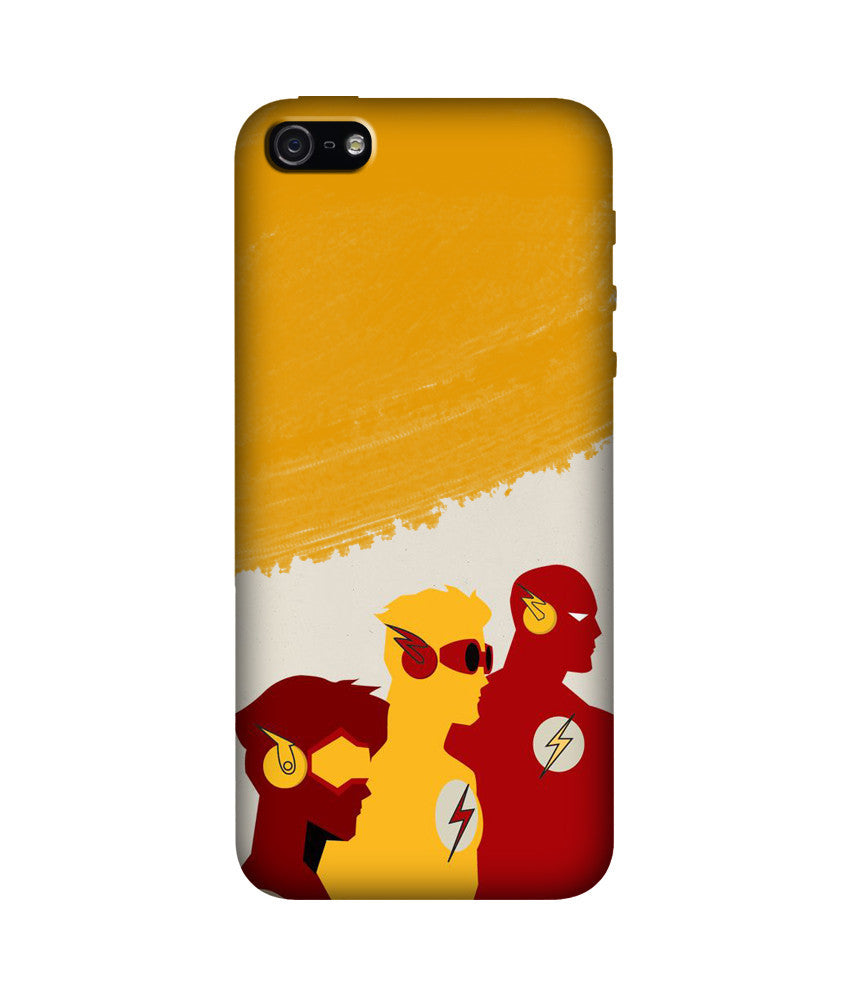 Creatives 3D The Flash Logo Iphone Case