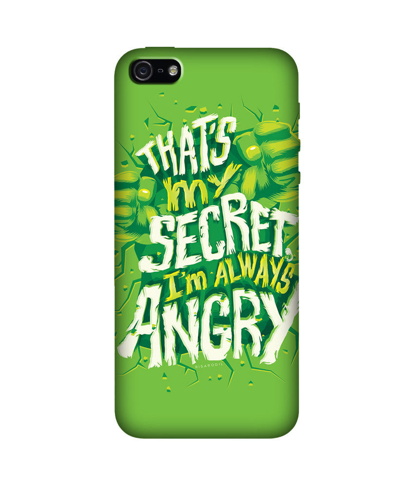 Creatives 3D I'm always angry Iphone Covers