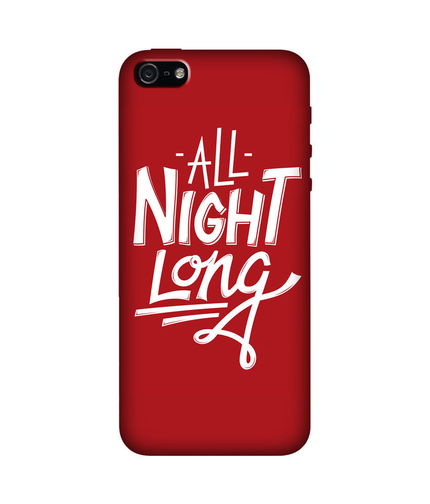 Creatives 3D All Night Long Iphone Case