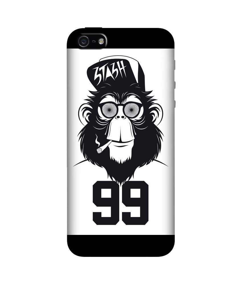 Creatives 3D Monkey 99 Iphone Case