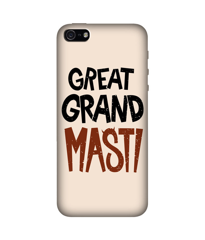 Creatives 3D Great Grand Masti Iphone Case