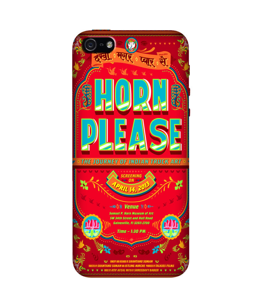 Creatives 3D Horn Please Iphone Case