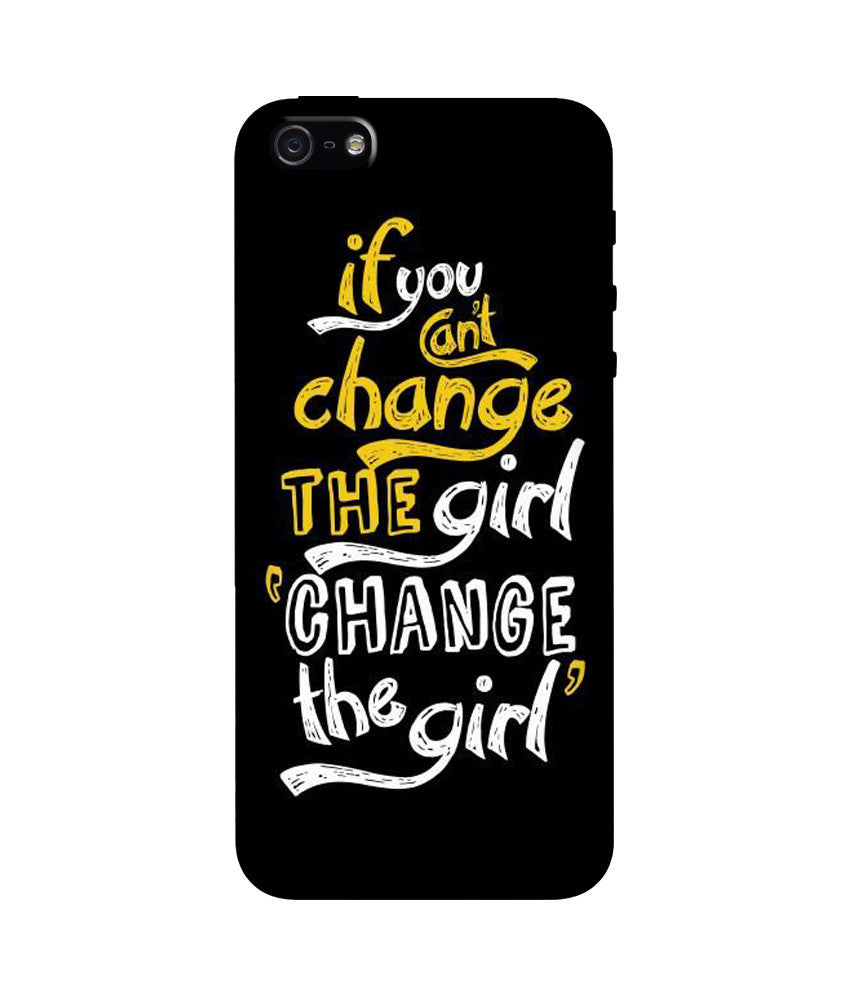 Creatives 3D Change the Girl Iphone Case
