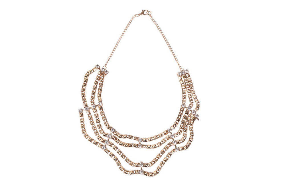 Charming Multilayer Golden Necklace