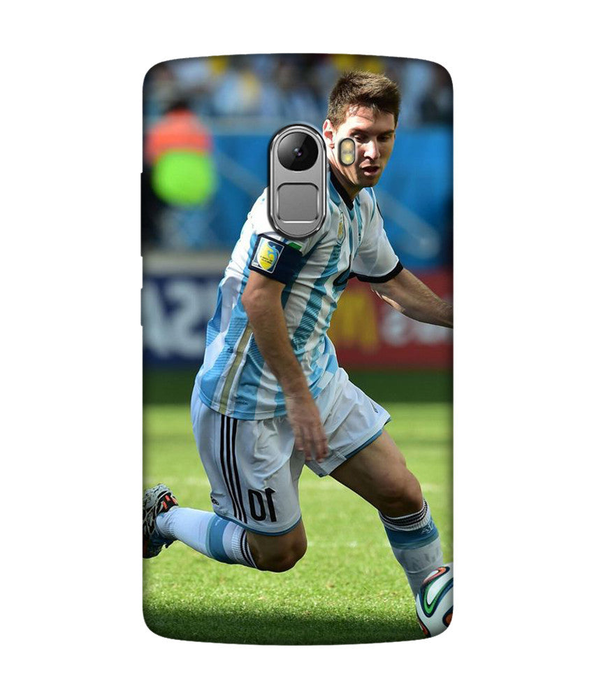 Creatives 3D Lionel Messi Lenovo Case