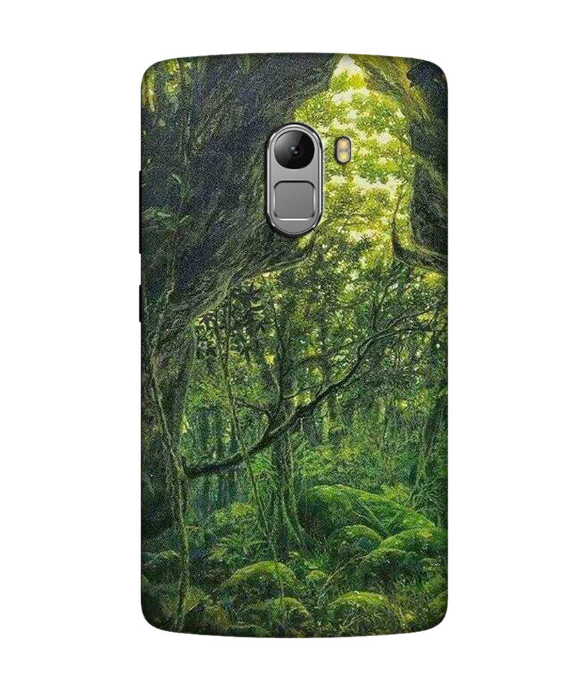 Creatives 3D Green Buddha Image Lenovo Case