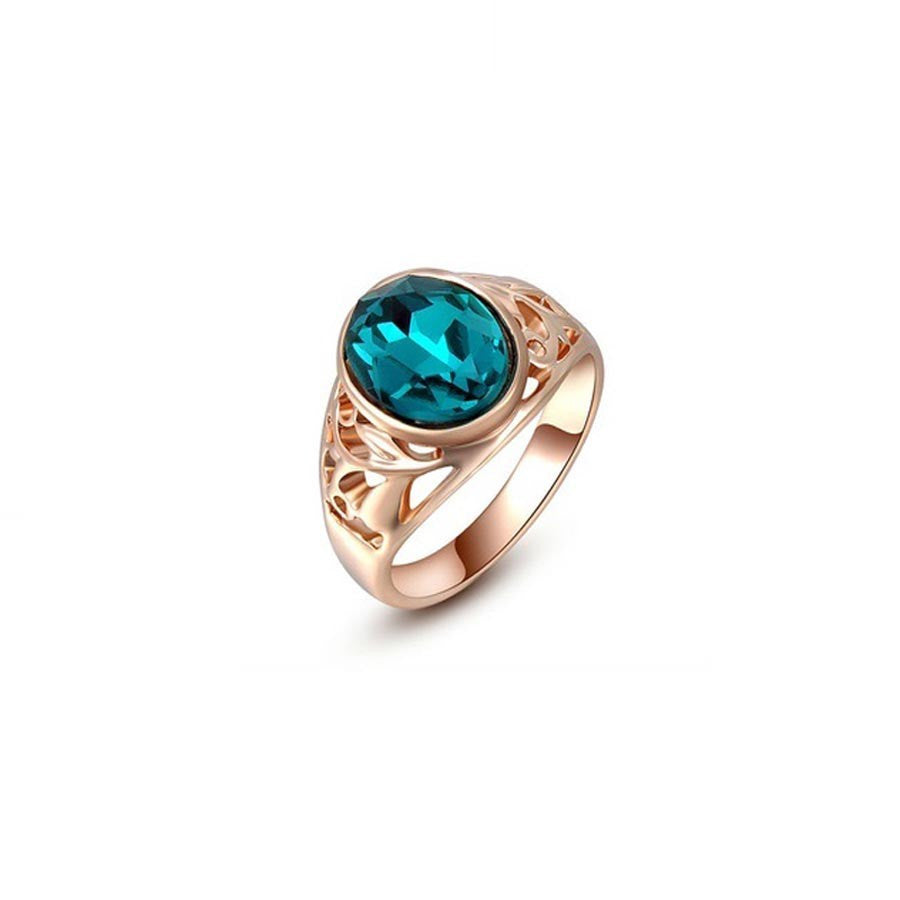 Exquisite Rose Gold Plated Ring