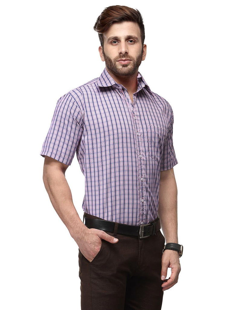 Koolpals Cotton Blend Checkered Shirt