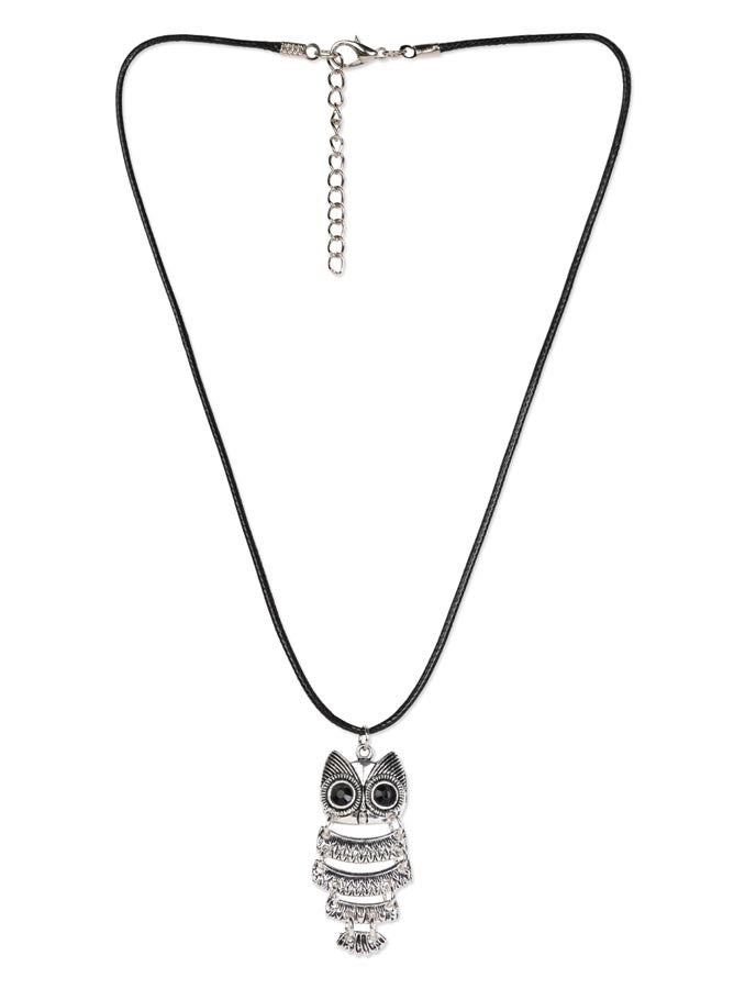Cut Owl Styllish Necklace