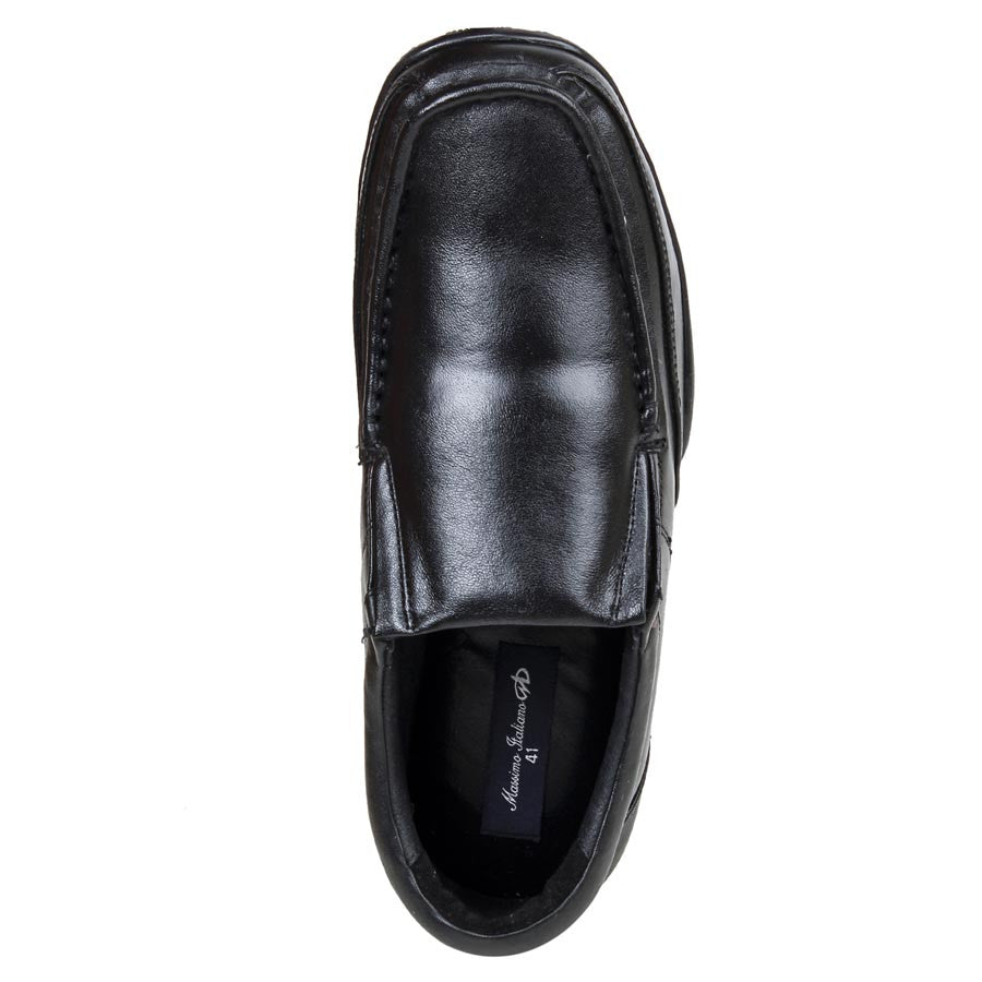 Massimo Italiano Black Stylish Shoes