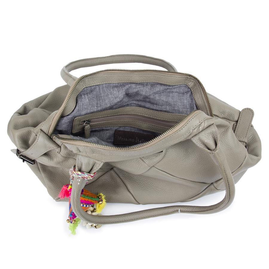 Grey Airovit Handbag
