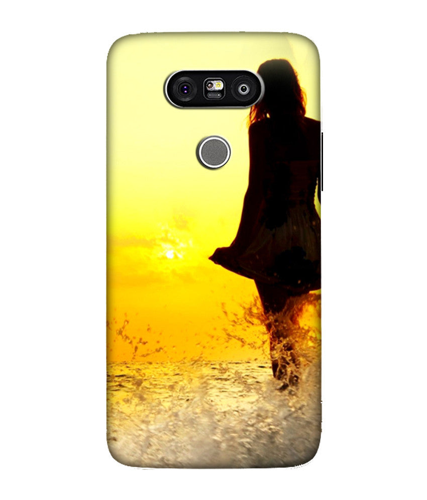Creatives 3D Lonely Girl LG Case