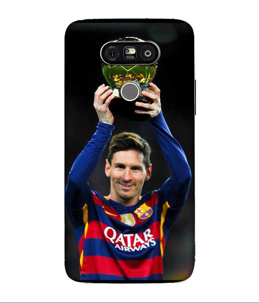 Creatives 3D Lionel Messi LG Case