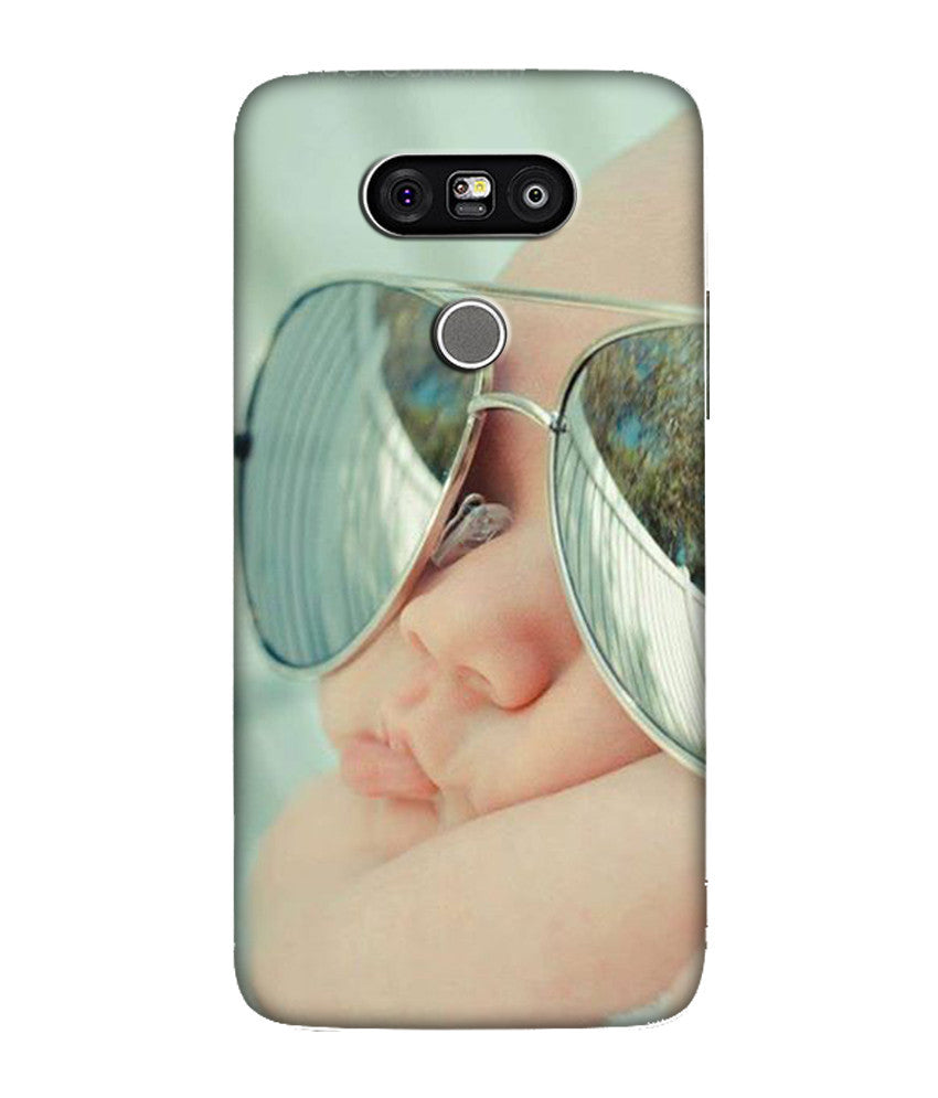 Creatives 3D Sleeping Baby With Gogle LG Case