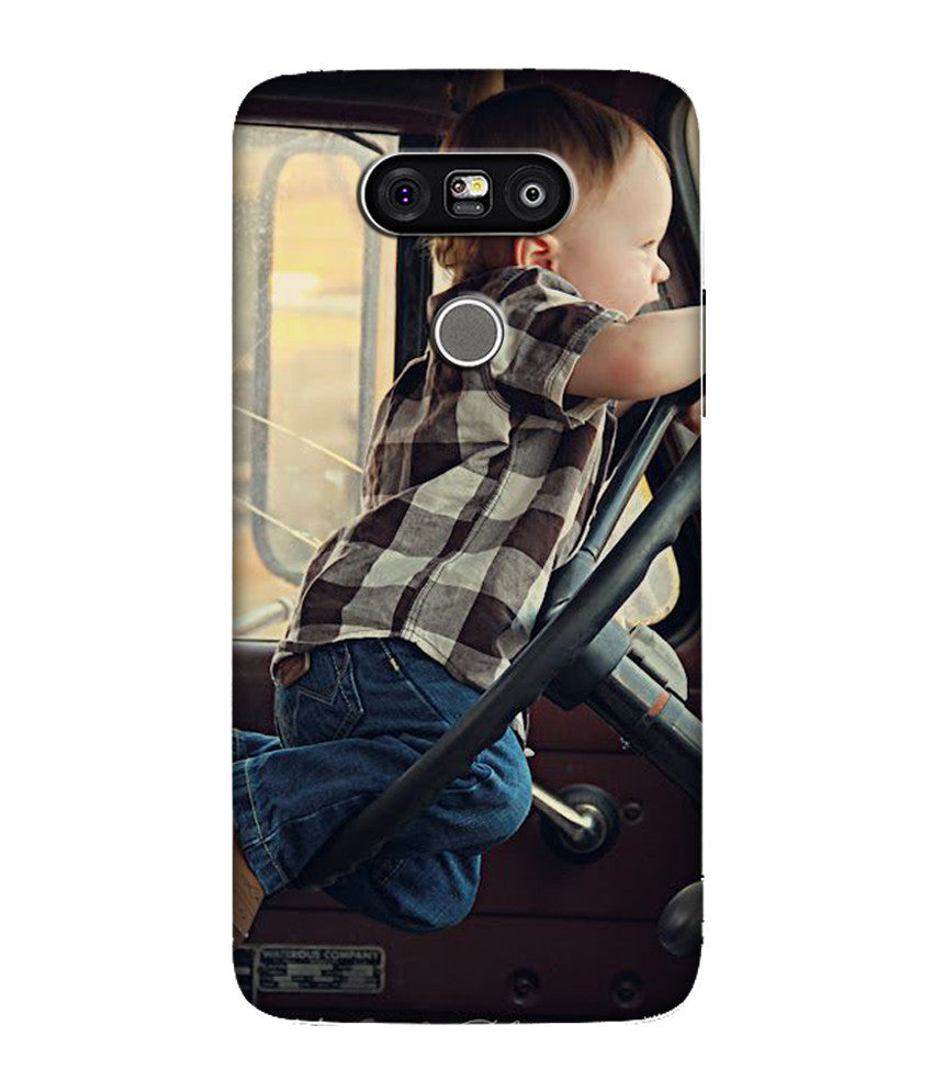 Creatives 3D Baby Boy LG Case