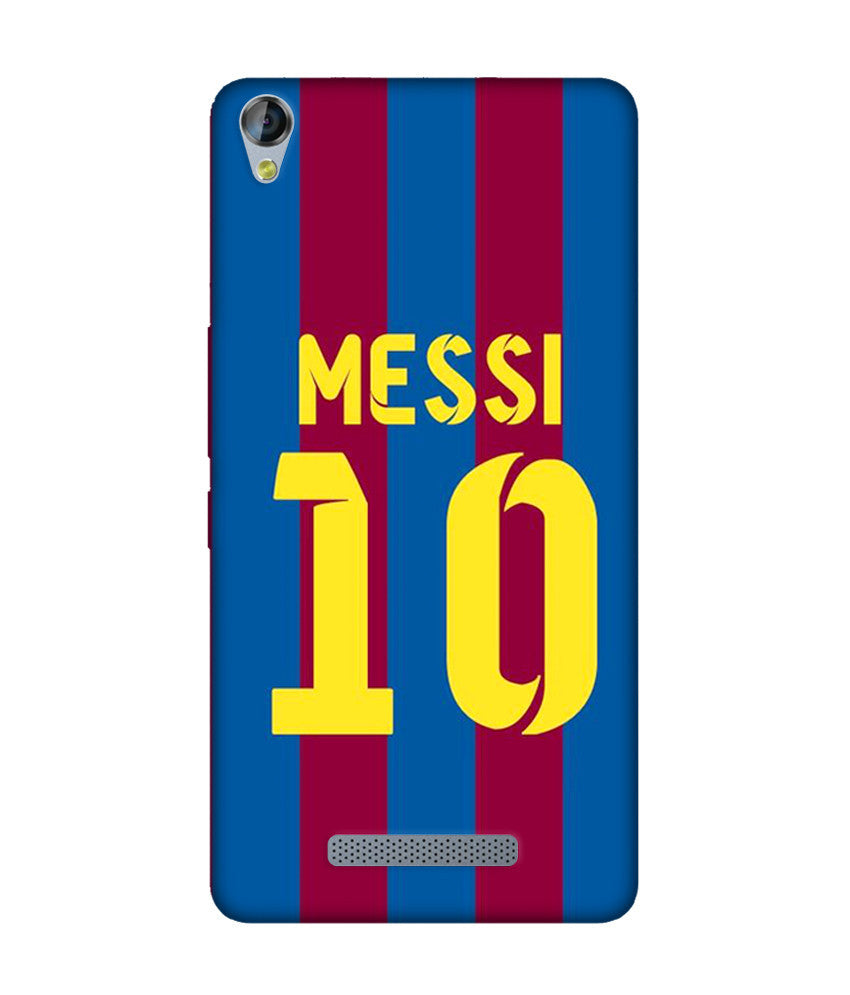 Creatives 3D Messi 10 Micromax case
