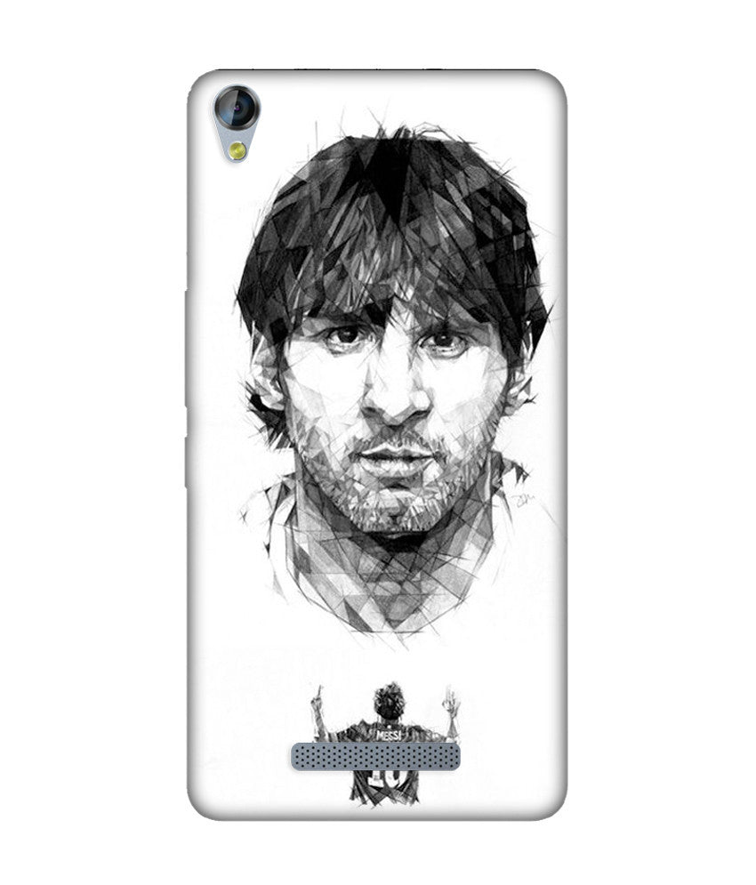 Creatives 3D Messi Micromax Case