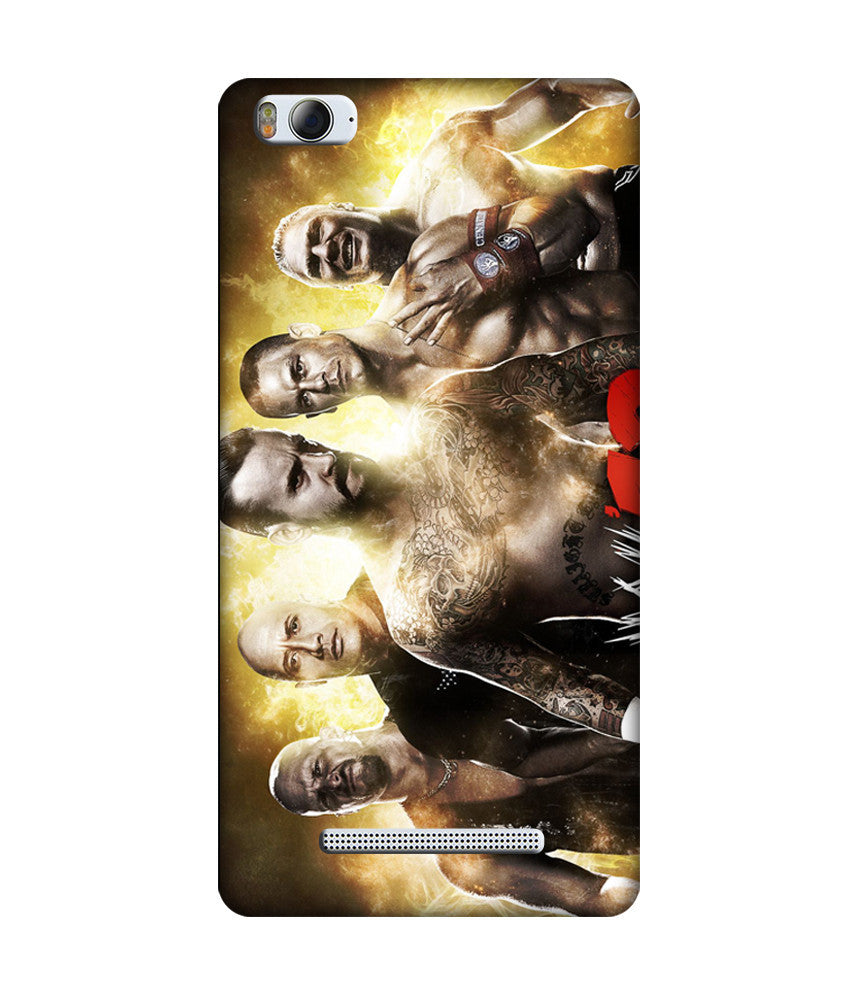 Creatives 3D WWE Super Stars Xiaomi  Case