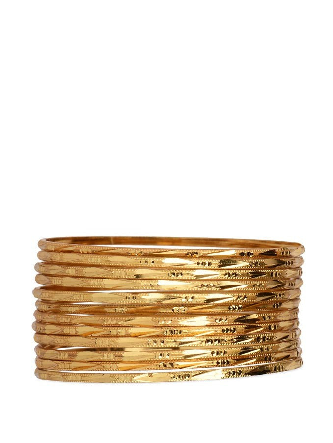 Gold Plated Bangle_ESD0442