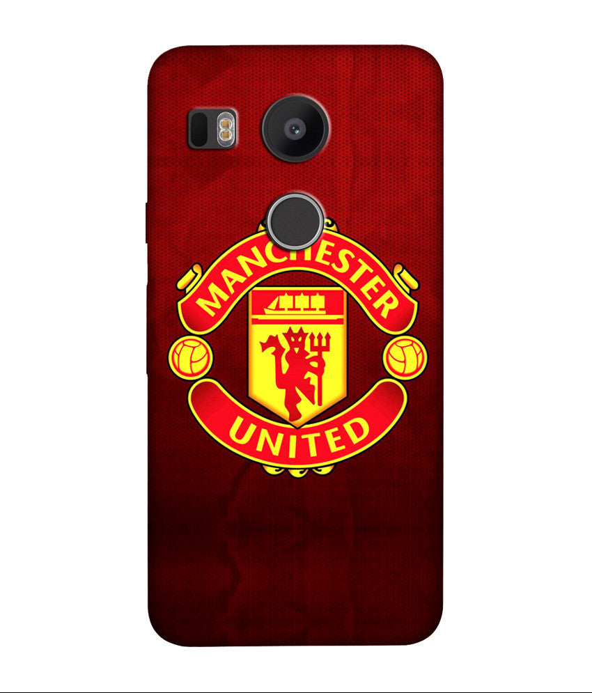 Creatives 3D Manchester United LG  Case