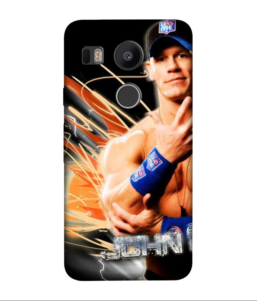 Creatives 3D John Cena LG  Case