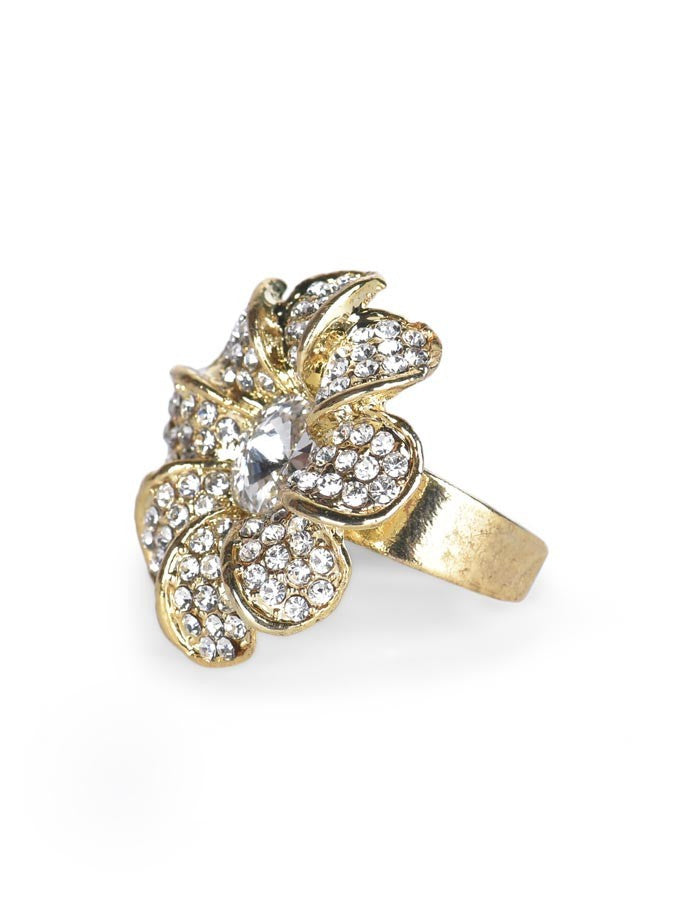 Enchanting Gold Plated Ring