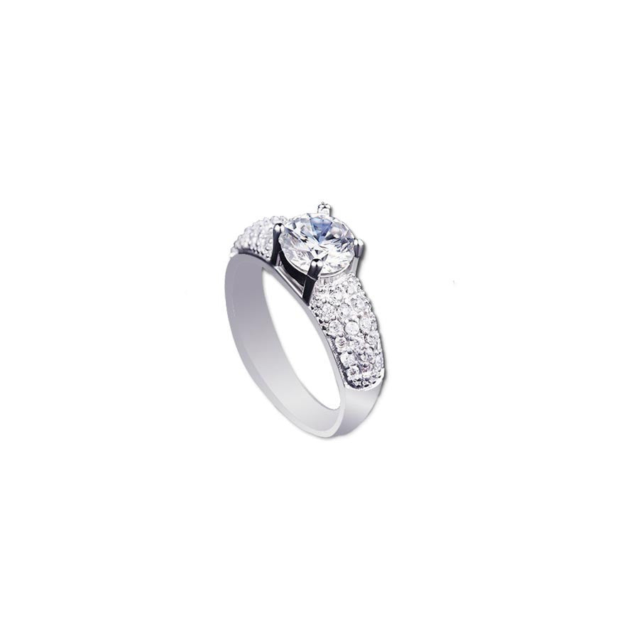 Engagement Zirconia Vintage Ring