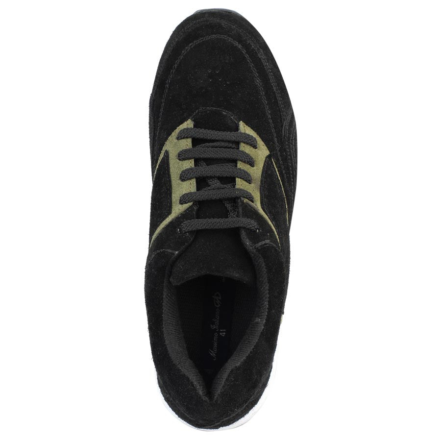 Massimo Italiano Black Sports Shoes