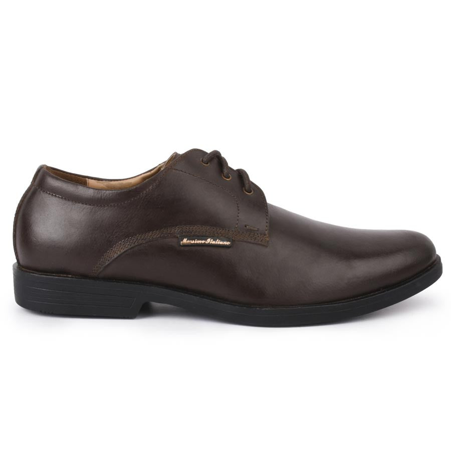 Massimo Italiano Brown Formal Shoes