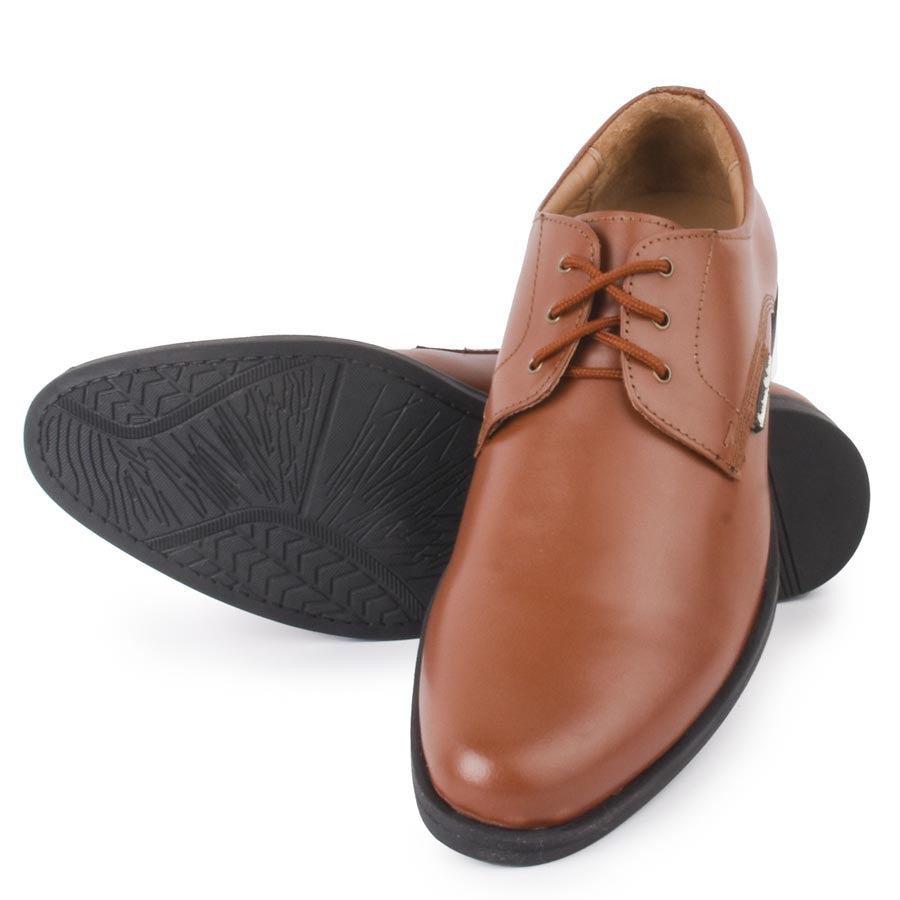 Massimo Italiano Tan Formal Shoes