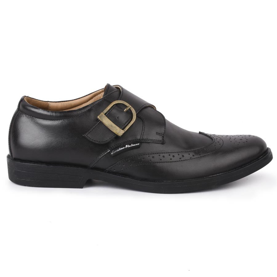 Massimo Italiano Black Formal Shoes