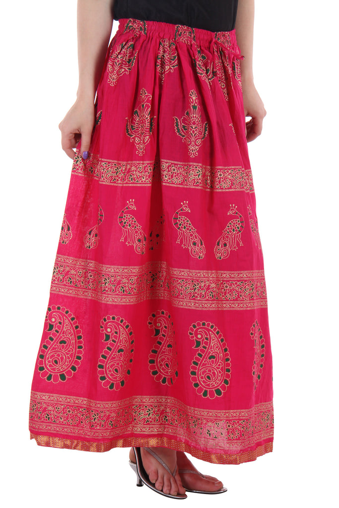 Ruhaan's Beautiful Printed Cotton Skirt