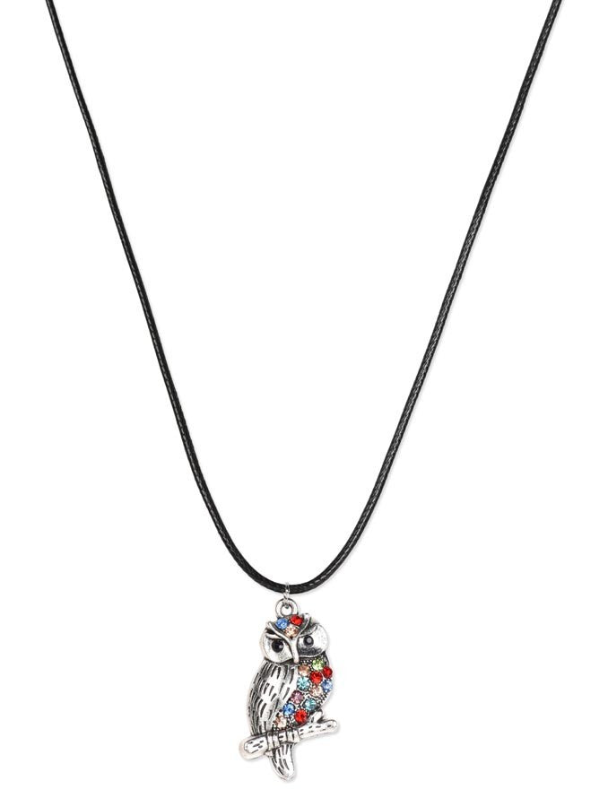Beautiful Designer Owl Necklace
