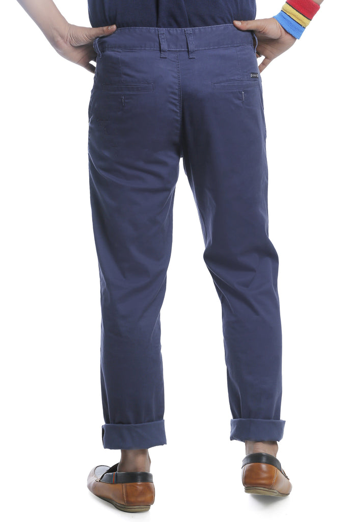 Burbn Men's Cotton Chinos Trousers