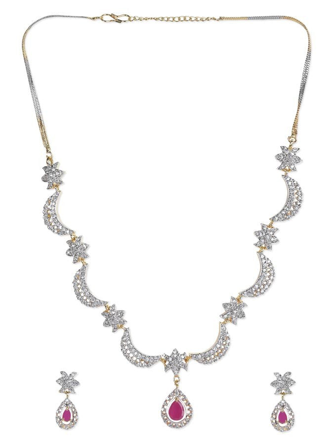 Enchanting AD Necklace Set