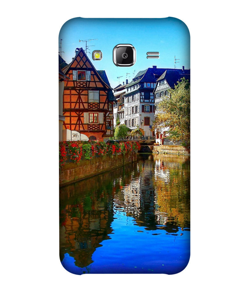 Creatives 3D House Samsung Case