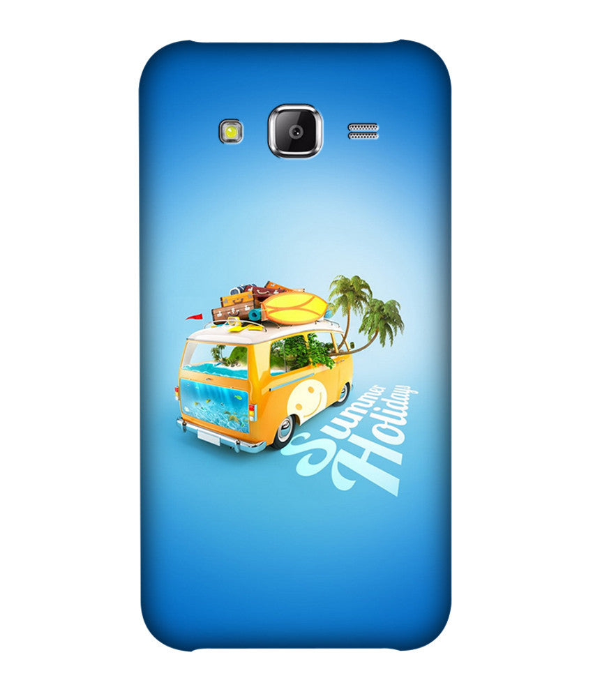 Creatives 3D Summer Holiday Samsung Case