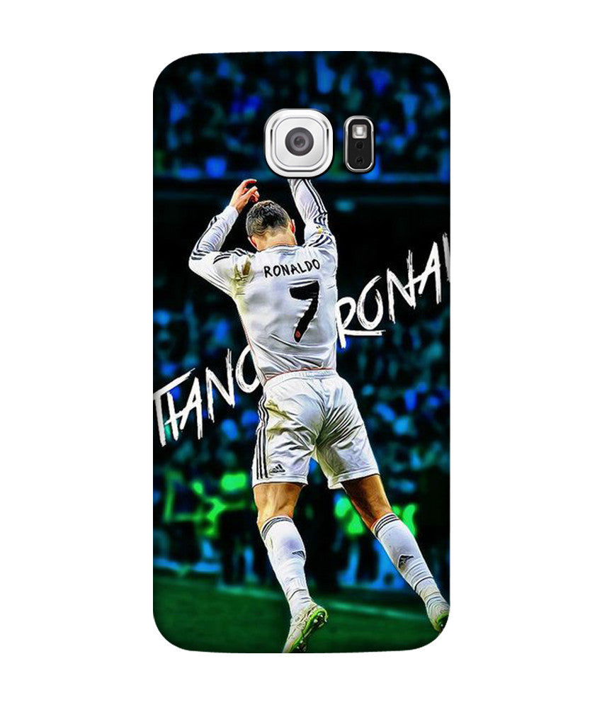 Creatives 3D cristiano ronaldo celebration 2015 Samsung  Case
