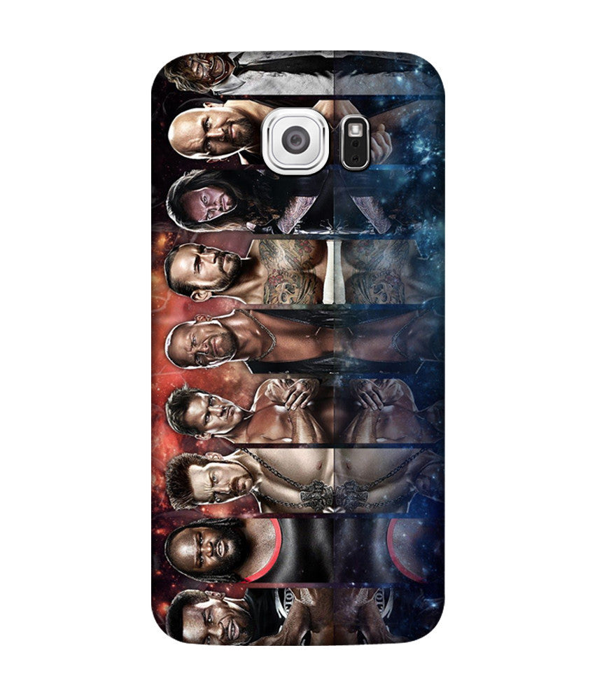 Creatives 3D WWE Super Stars Samsung  Case